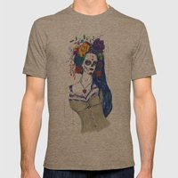 Scull Candy Lady Mens Fitted Tee Tri-Coffee SMALL
