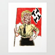 Make America Hate Again Art Print