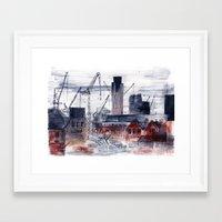 London City Framed Art Print
