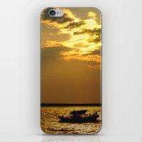 Fishing Boat Returns at Dusk iPhone & iPod Skin