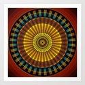 Mandala 14 Art Print