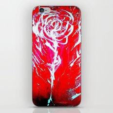 JUSSI FLOWER ROSE iPhone & iPod Skin