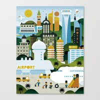 GOOD TRIPS Canvas Print