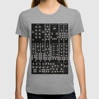 Modular Man Womens Fitted Tee Tri-Grey SMALL