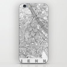 Vienna Map Line iPhone & iPod Skin