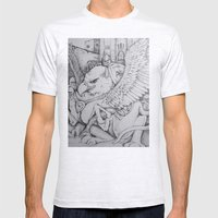 Griffen Mens Fitted Tee Ash Grey SMALL