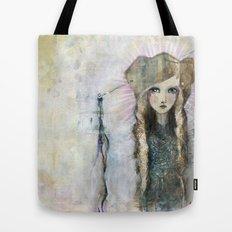 Gesso Geisha by Jane Davenport Tote Bag