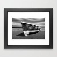 Sailing Coble Lady J Mon… Framed Art Print