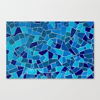 'Mosaic Tile' Canvas Print
