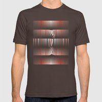 Id II Mens Fitted Tee Brown SMALL