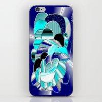 Blueness iPhone & iPod Skin