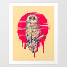 Hoping Art Print