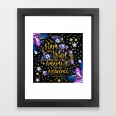 A Court of Mist and Fury - To The Stars Framed Art Print