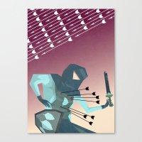 Winter's End  Canvas Print
