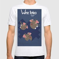 Midnight Attack! - Wezteka Union Mens Fitted Tee Ash Grey SMALL
