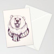 Bear & Scarf Stationery Cards