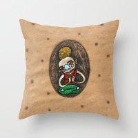 Kundalini Shakti Throw Pillow