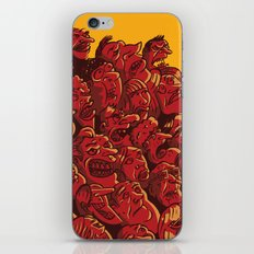 what ́s going on iPhone & iPod Skin