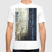Flower Light Mens Fitted Tee White SMALL