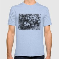 Eye Turtle Mens Fitted Tee Athletic Blue SMALL