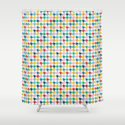 Puppytooth #2 Shower Curtain