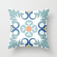 Floor tile 5 Throw Pillow