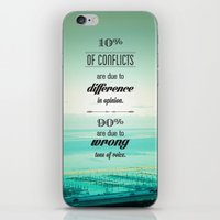 CONFLICTS iPhone & iPod Skin