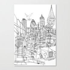 London! Canvas Print