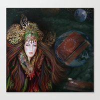 MOTHER EARTH STORY Canvas Print