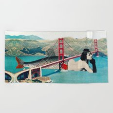 Mermaid Three Beach Towel