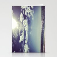 Beach and Sky Stationery Cards