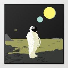Three Planets Canvas Print