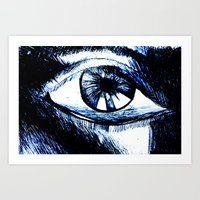 I Watch Art Print