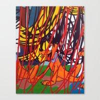 LICHTENSTEIN/ PLUTO Canvas Print