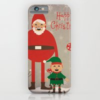 iPhone & iPod Case featuring Happy Christmas by TinyBison