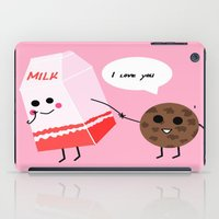 Milk And Cookie Love  iPad Case