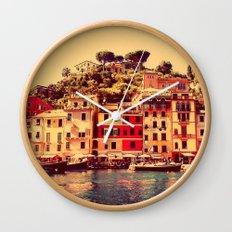 Buongiorno Portofino! Wall Clock