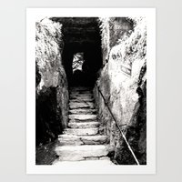 Ireland: Wishing Steps Art Print