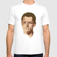 Chicharito Mens Fitted Tee White SMALL