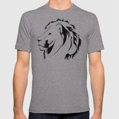 Lionhead Tribiales Mens Fitted Tee Athletic Grey SMALL