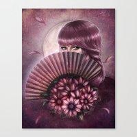 Eyes of Seduction Canvas Print