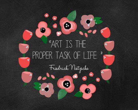 Art is Canvas Print