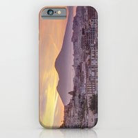 Napoli, landscape with volcano Vesuvio and sea iPhone 6 Slim Case