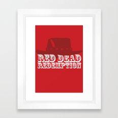 Red Dead Redemption Framed Art Print