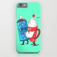 iPhone & iPod Case featuring SANTA WANNABE by KIMKONG