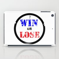 WIN OR LOSE? iPad Case
