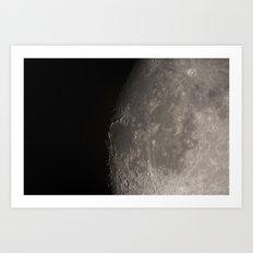 moon 03 Art Print