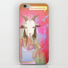 Hanging the Goat Head iPhone & iPod Skin