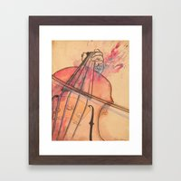 Played Out Framed Art Print
