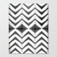HYPNOTIC CHEVRONIA Canvas Print